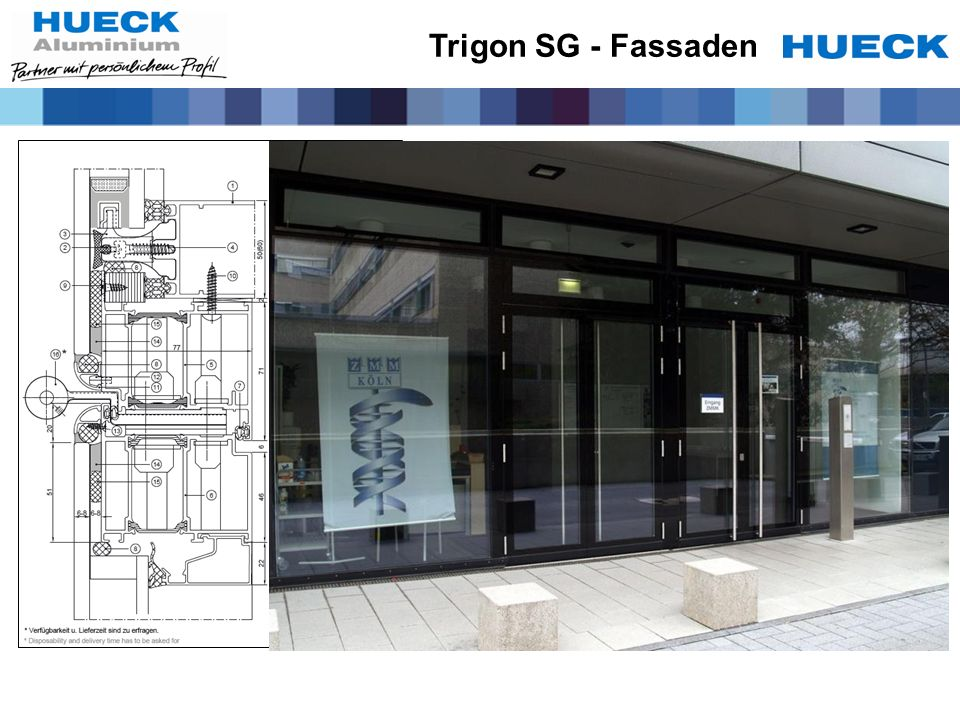 Trigon SG - Fassaden