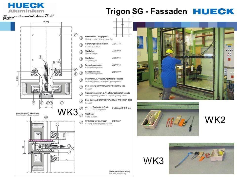 Trigon SG - Fassaden WK3 WK2 WK3