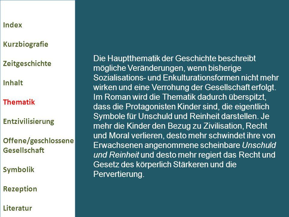 Index Kurzbiografie Zeitgeschichte Inhalt