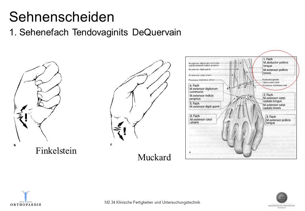 M2.34 Klinische Fertigkeiten und Untersuchungstechnik