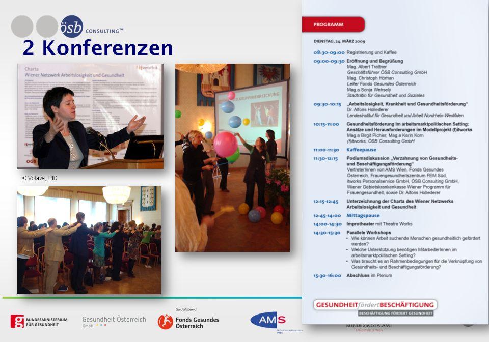2 Konferenzen © Votava, PID