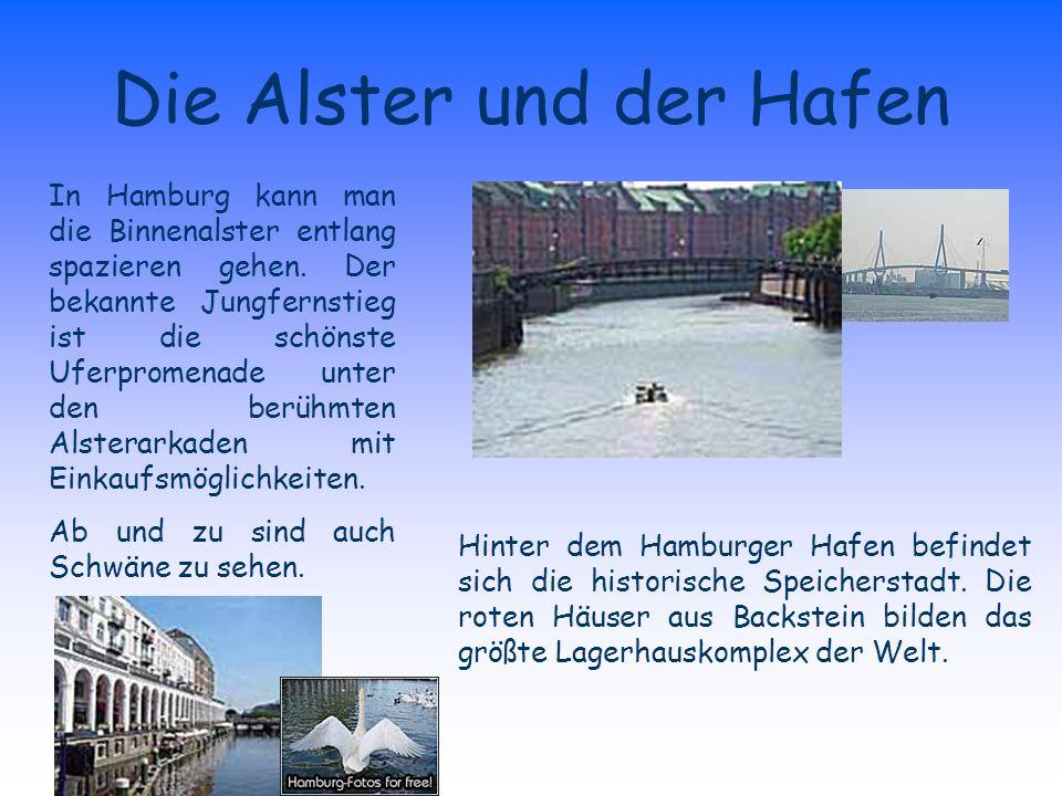 Die Alster und der Hafen