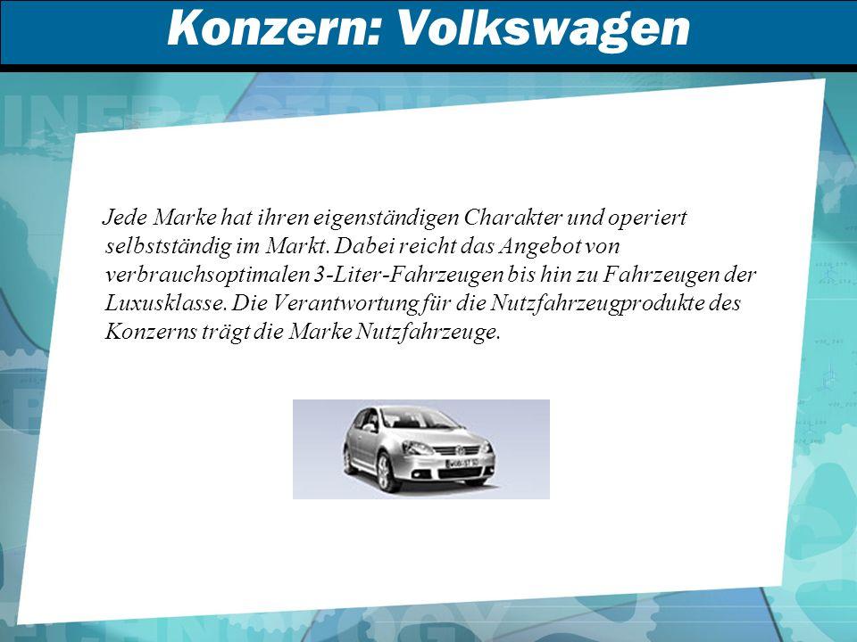 Konzern: Volkswagen
