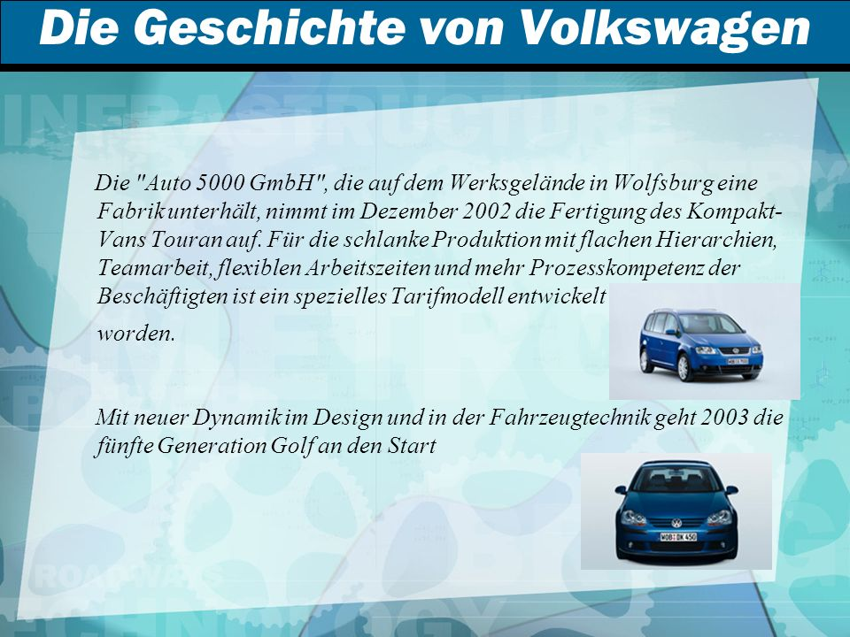 Die Geschichte von Volkswagen