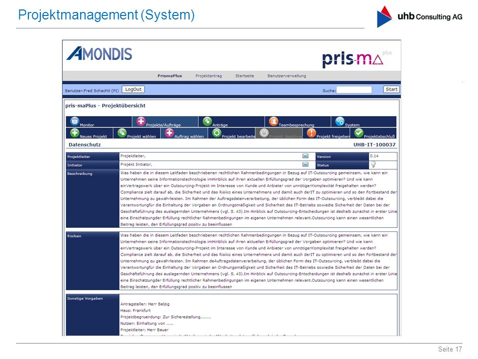 Projektmanagement (System)