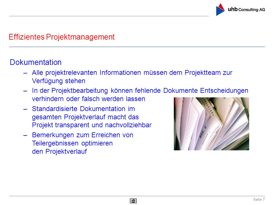 Effizientes Projektmanagement