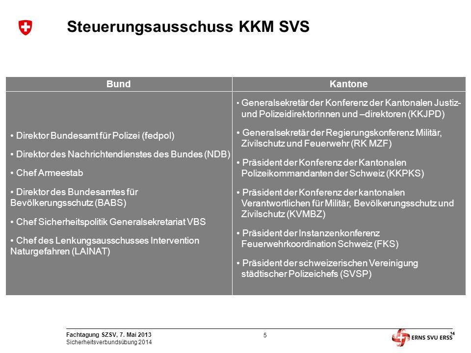 Steuerungsausschuss KKM SVS