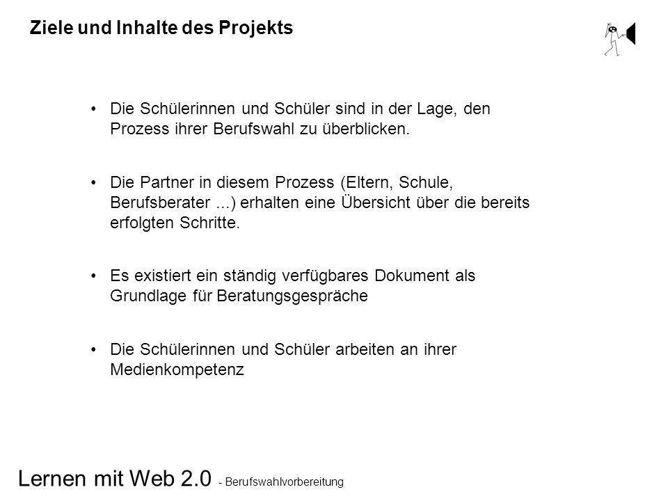 Ziele und Inhalte des Projekts
