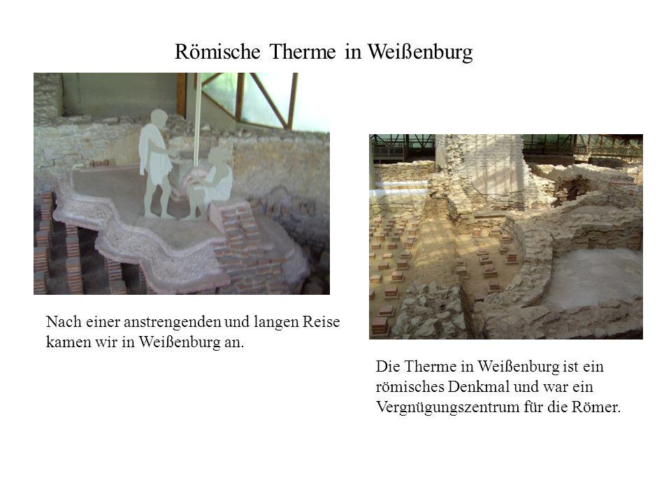 Römische Therme in Weißenburg