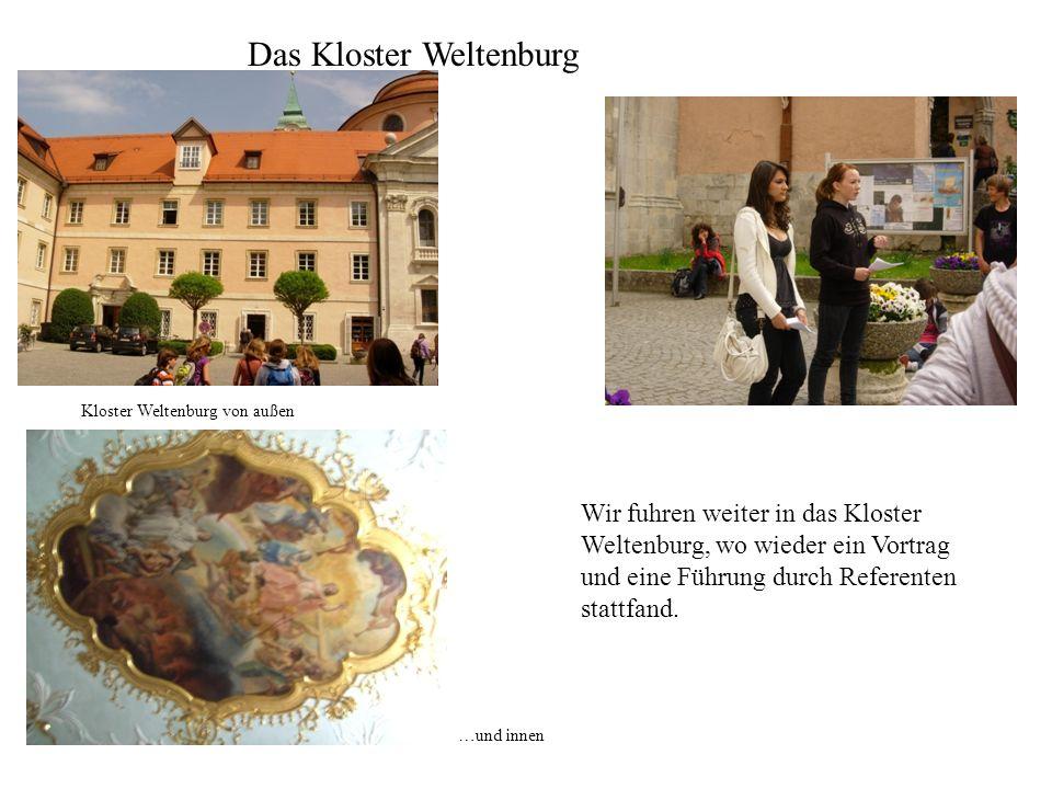 Das Kloster Weltenburg