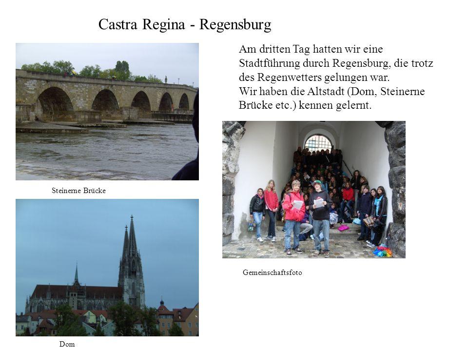 Castra Regina - Regensburg