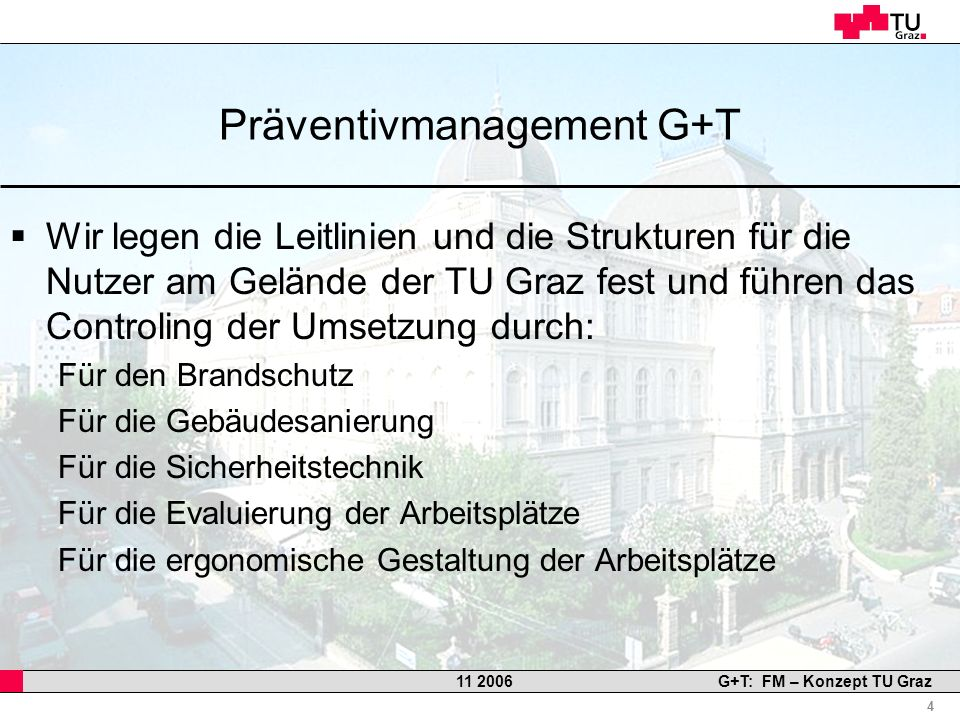 Präventivmanagement G+T