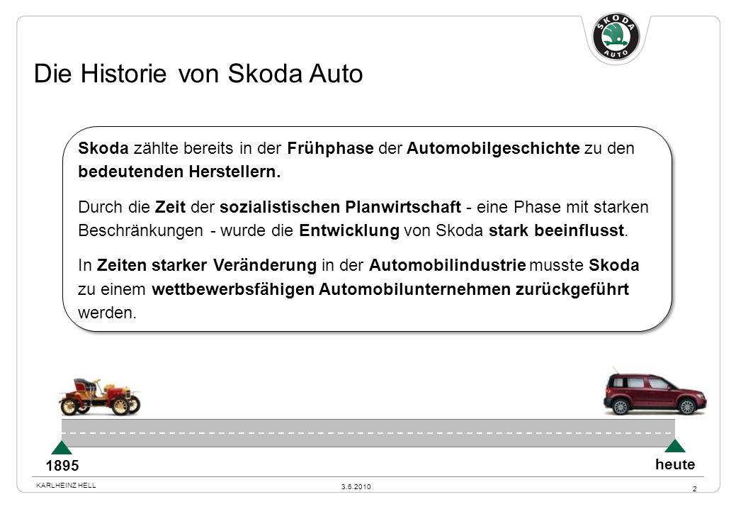 Die Historie von Skoda Auto