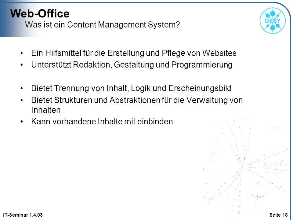 Was ist ein Content Management System