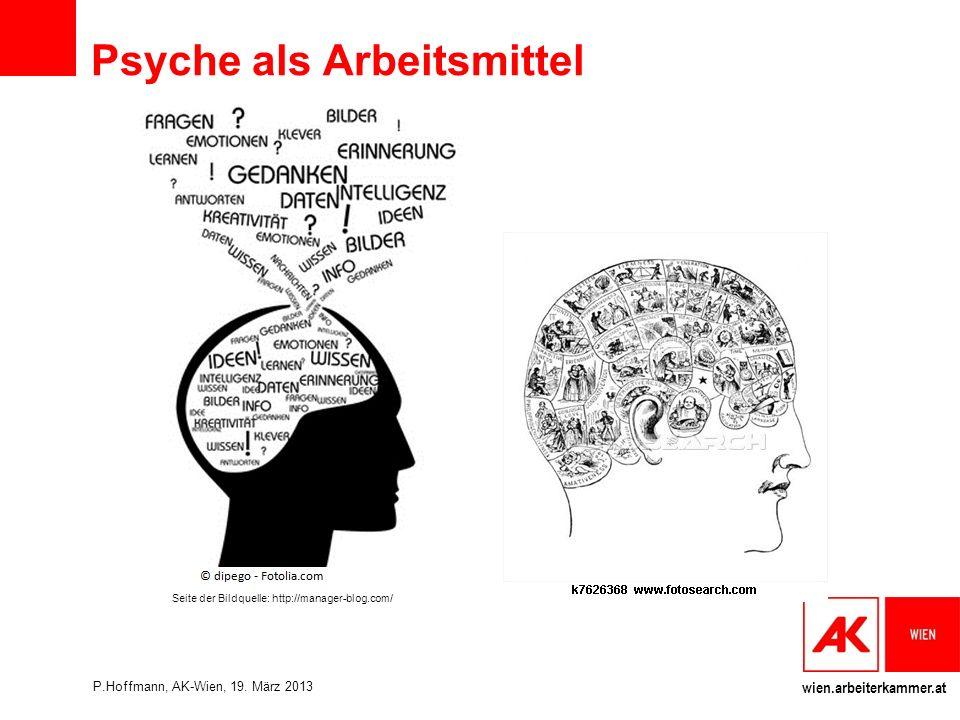 Psyche als Arbeitsmittel
