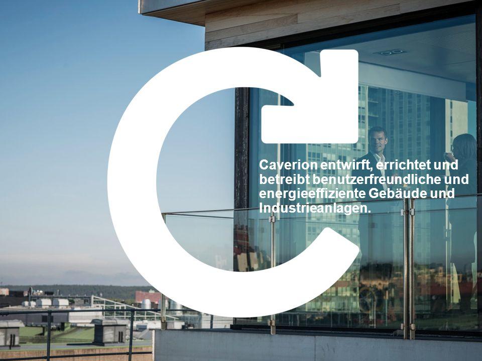 Caverion entwirft, errichtet und betreibt benutzerfreundliche und energieeffiziente Gebäude und Industrieanlagen.