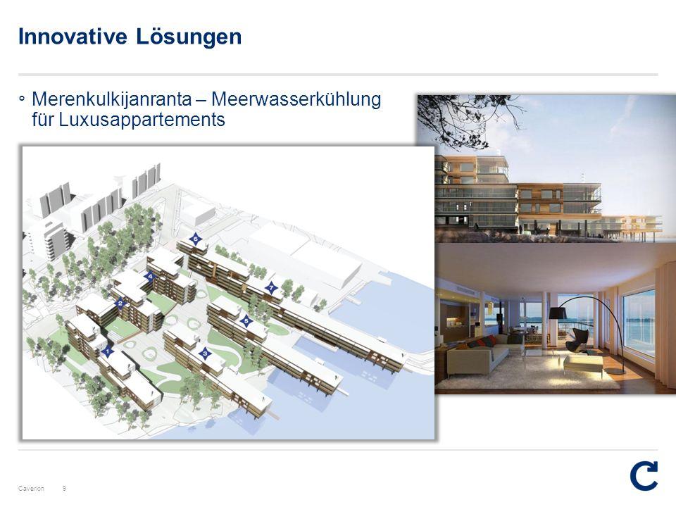 Innovative Lösungen Merenkulkijanranta – Meerwasserkühlung für Luxusappartements