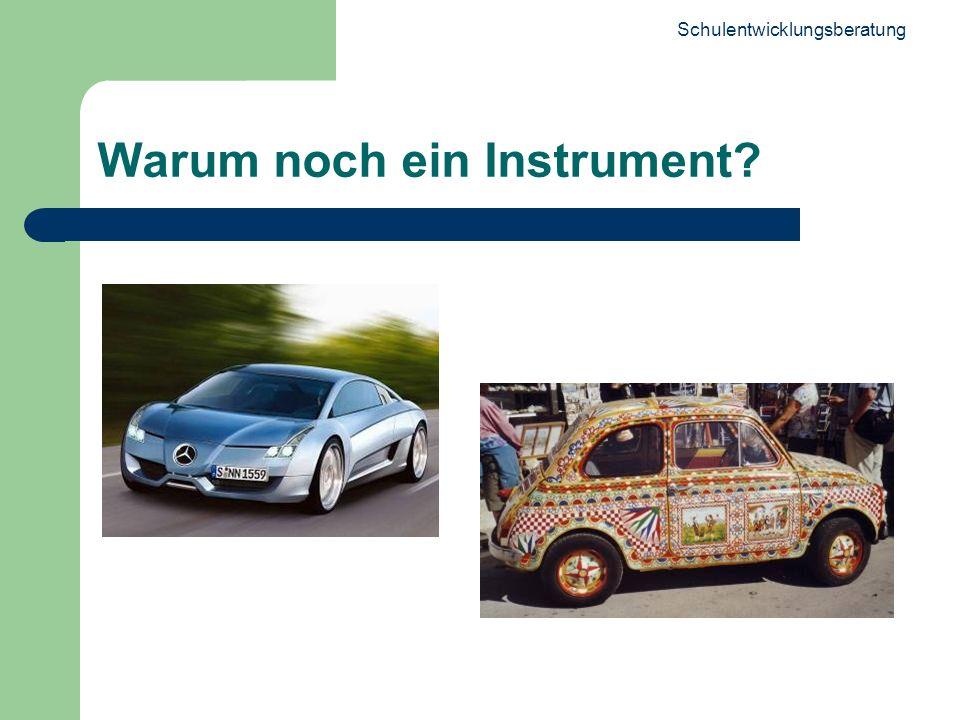 Warum noch ein Instrument