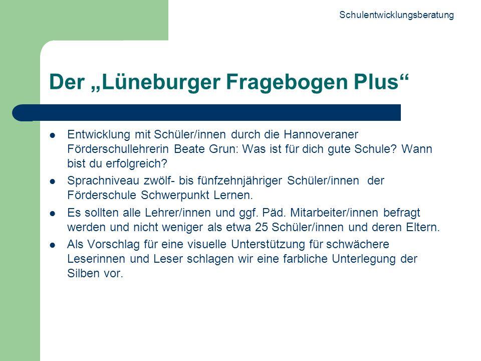 """Der """"Lüneburger Fragebogen Plus"""