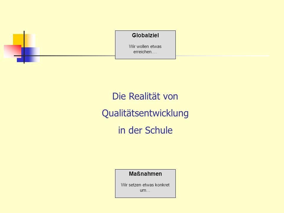 Qualitätsentwicklung in der Schule