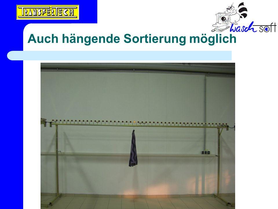 Auch hängende Sortierung möglich