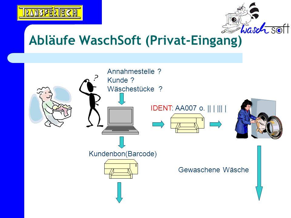 Abläufe WaschSoft (Privat-Eingang)