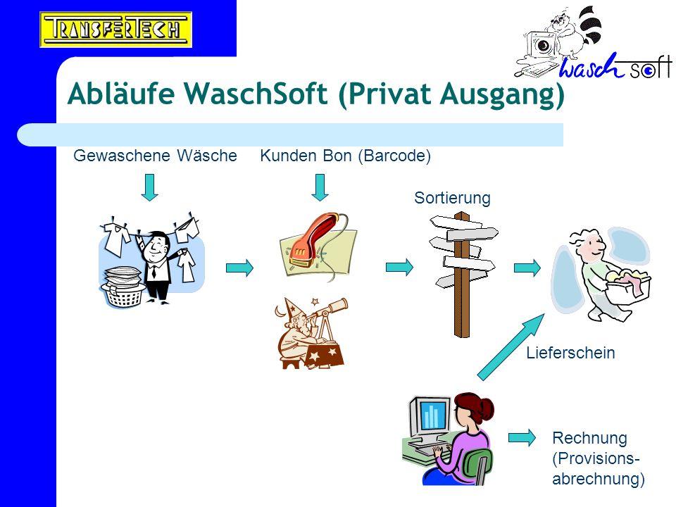 Abläufe WaschSoft (Privat Ausgang)