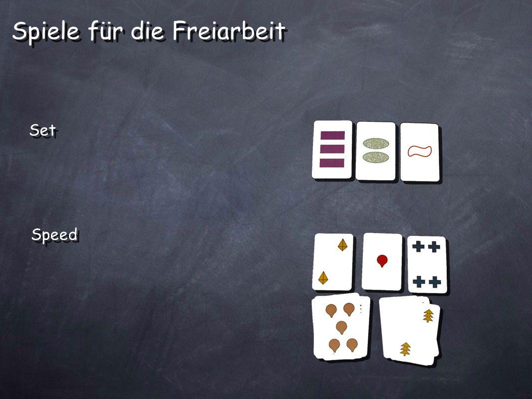 Spiele für die Freiarbeit