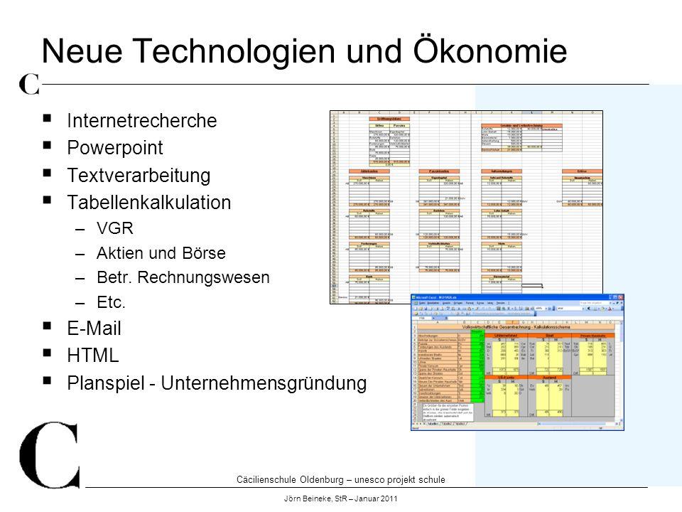 Neue Technologien und Ökonomie