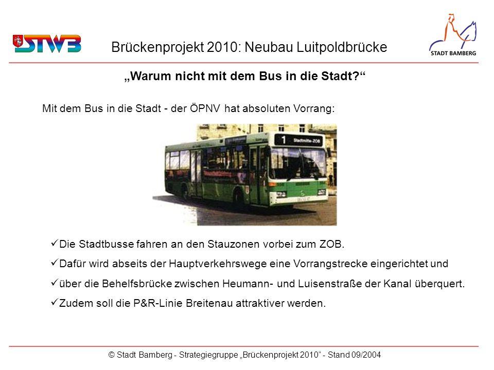 """""""Warum nicht mit dem Bus in die Stadt"""