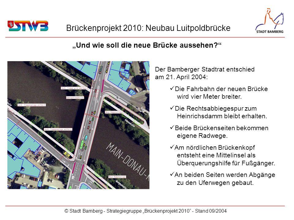 """""""Und wie soll die neue Brücke aussehen"""