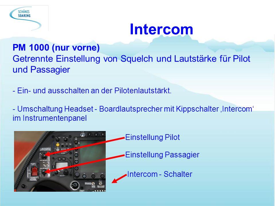 Intercom PM 1000 (nur vorne)