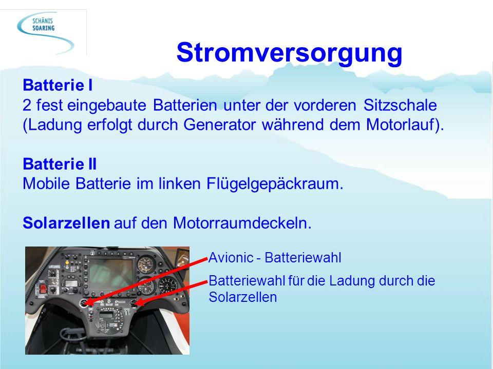 Stromversorgung Batterie I