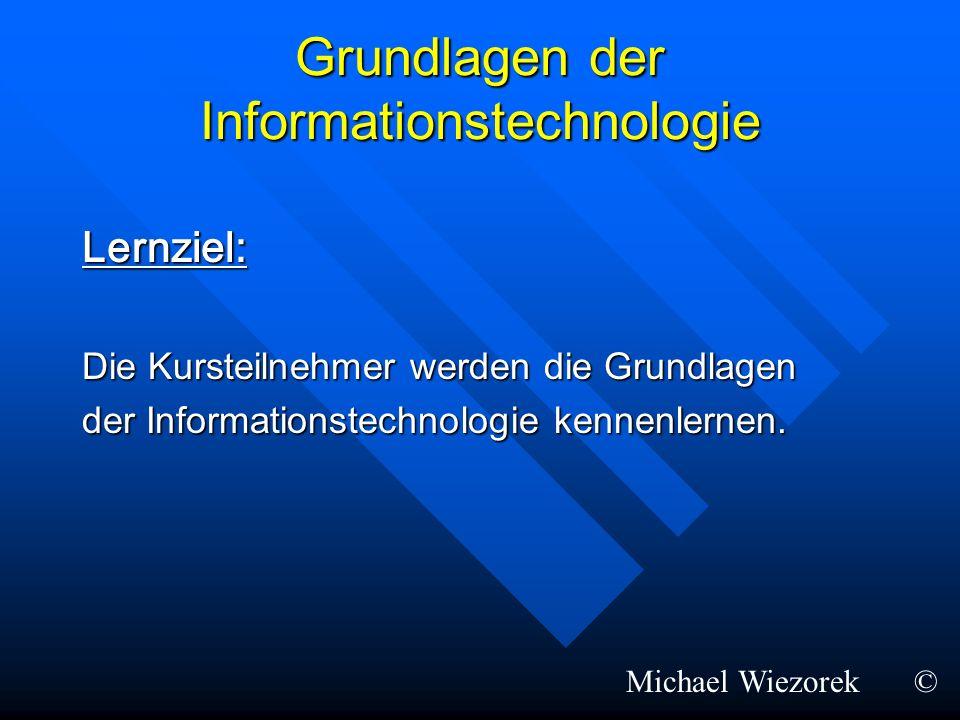 Grundlagen der Informationstechnologie