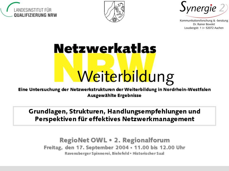 RegioNet OWL • 2. Regionalforum