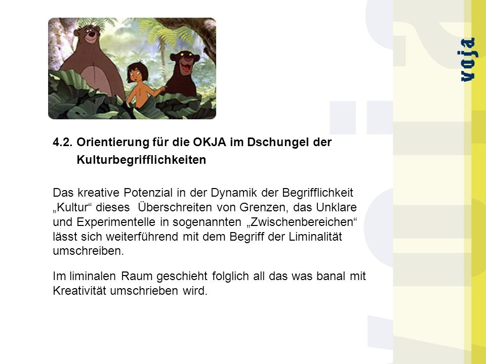 4.2. Orientierung für die OKJA im Dschungel der