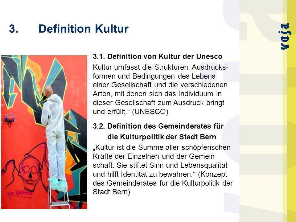 3. Definition Kultur 3.1. Definition von Kultur der Unesco