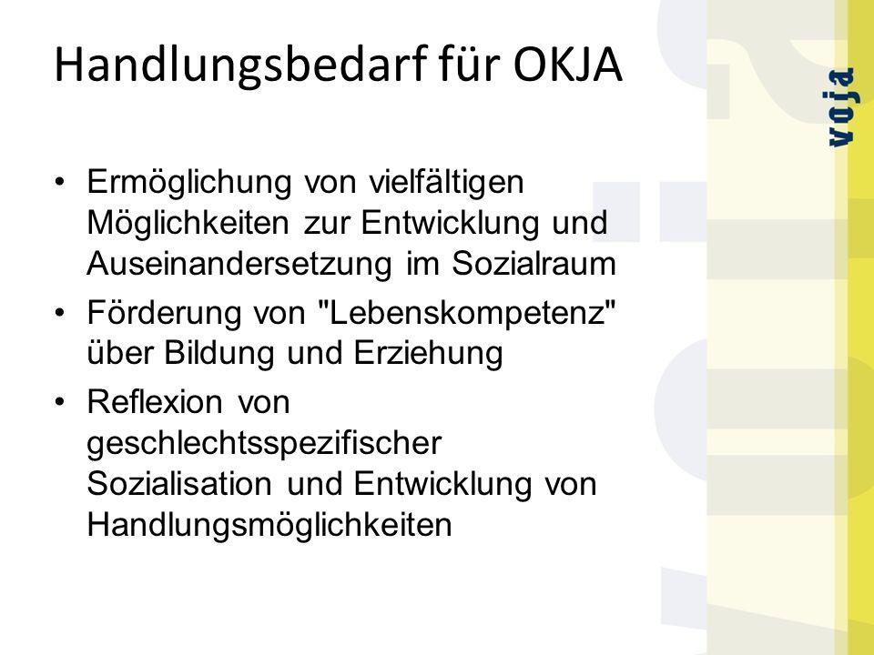 Handlungsbedarf für OKJA