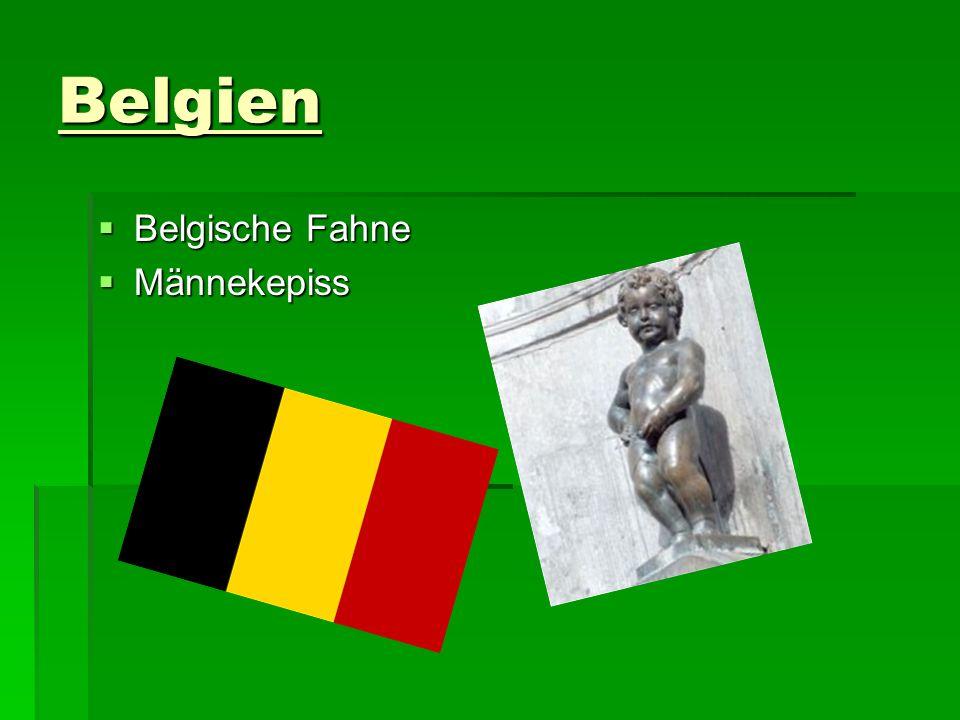 Belgien Belgische Fahne Männekepiss