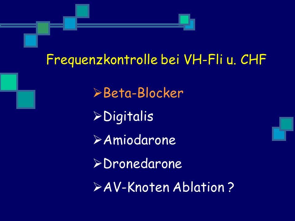 Frequenzkontrolle bei VH-Fli u. CHF