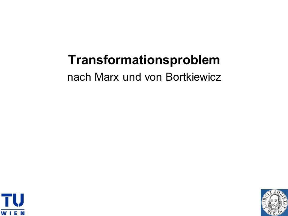 Transformationsproblem