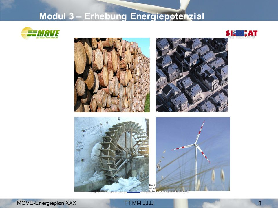Modul 3 – Erhebung Energiepotenzial