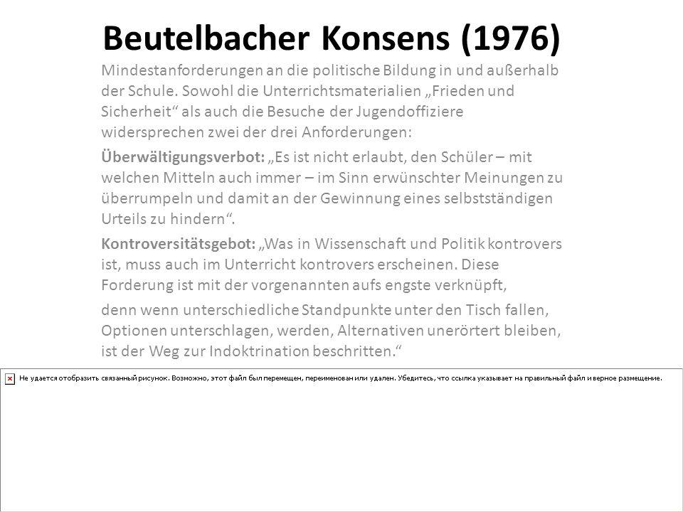 Beutelbacher Konsens (1976)