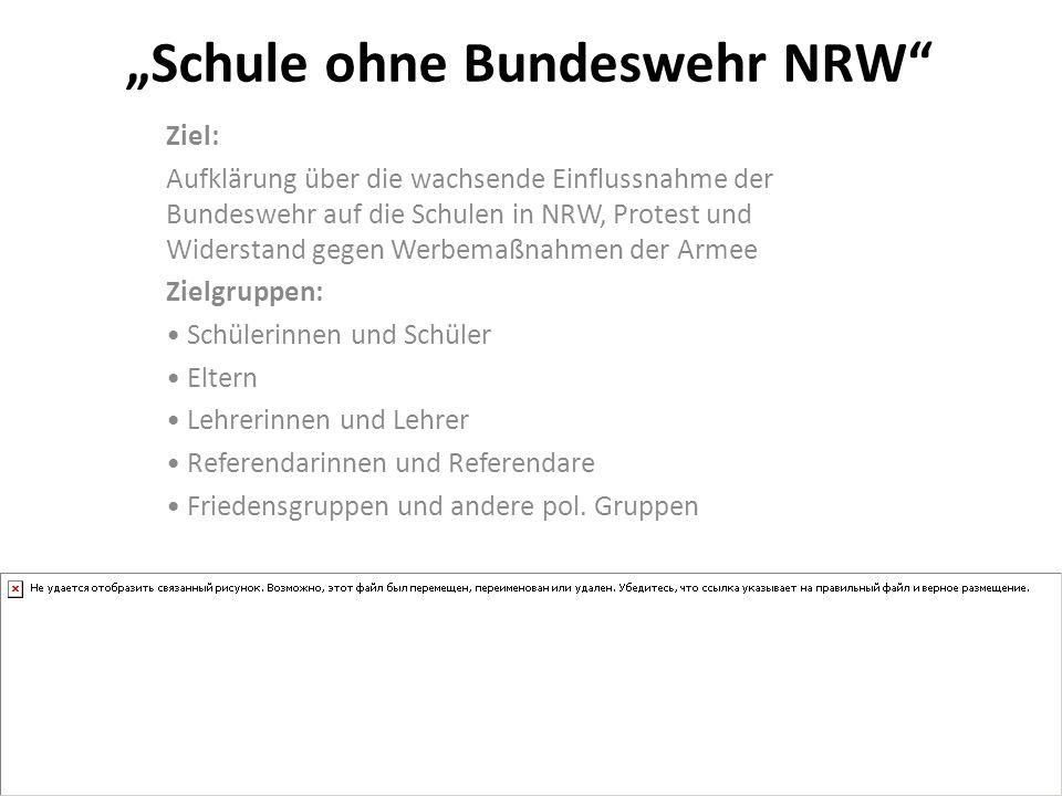 """""""Schule ohne Bundeswehr NRW"""
