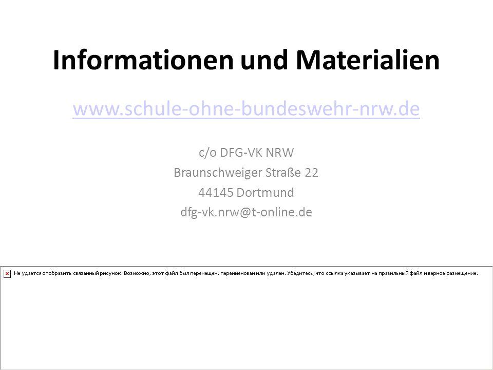 Informationen und Materialien