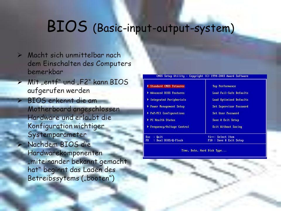 BIOS (Basic-input-output-system)
