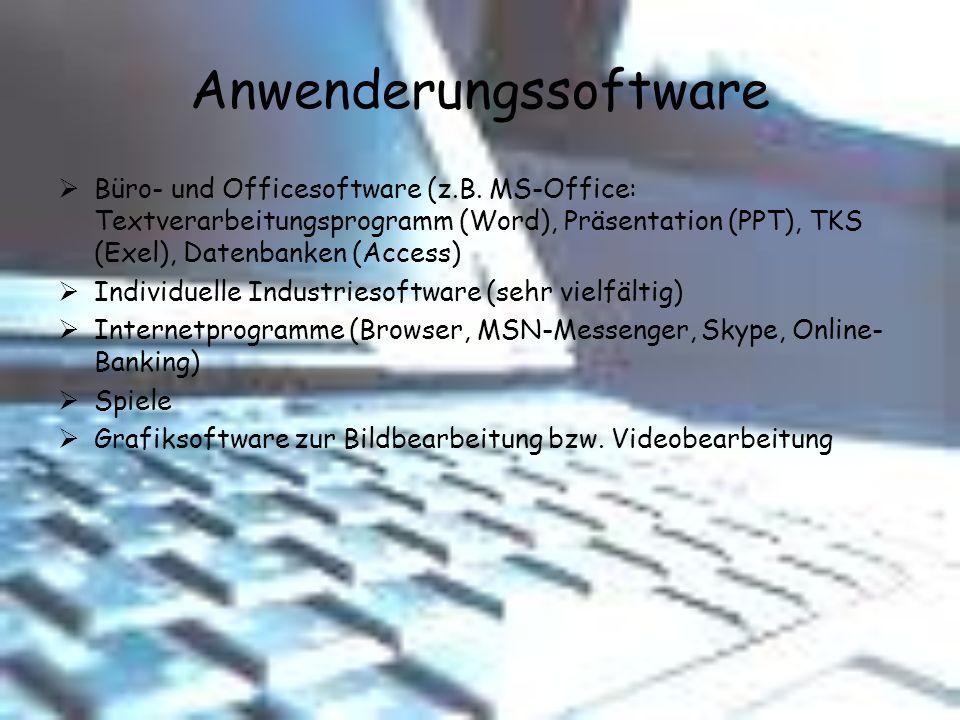 Anwenderungssoftware