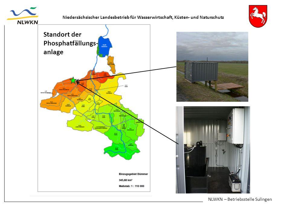 Standort der Phosphatfällungs-anlage