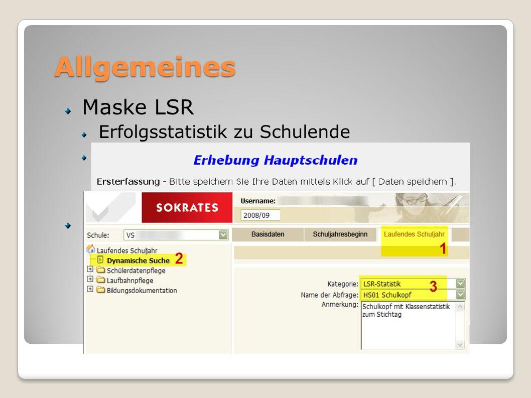 Allgemeines Maske LSR Bewerber-DB jetzt via EDM