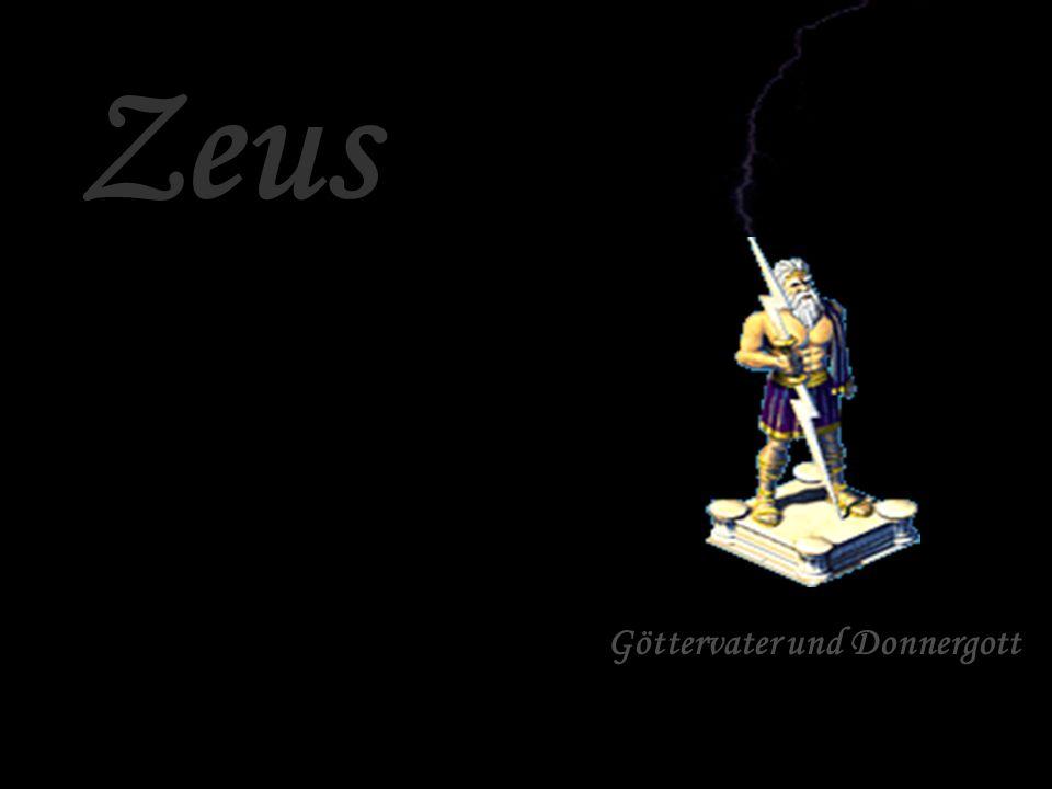 Zeus Göttervater und Donnergott